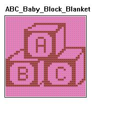 ABC BABY BLANKET PATTERN   FREE Knitting PATTERNS