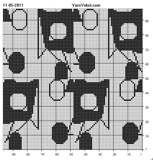 Filet Crochet Tablecloth Patterns Crochet And Knitting Patterns